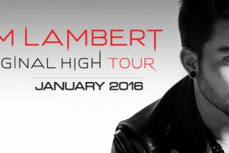 Book Adam Lambert tickets