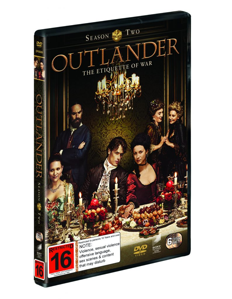 Win Outlander Season 2 on DVD