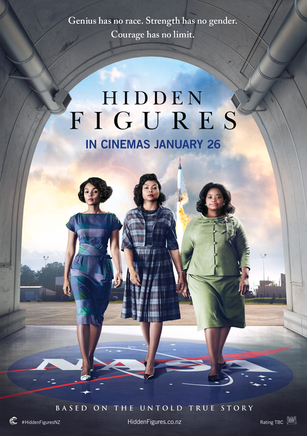 Win tickets to Hidden Figures