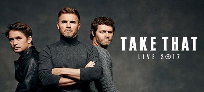 Take That NZ tour