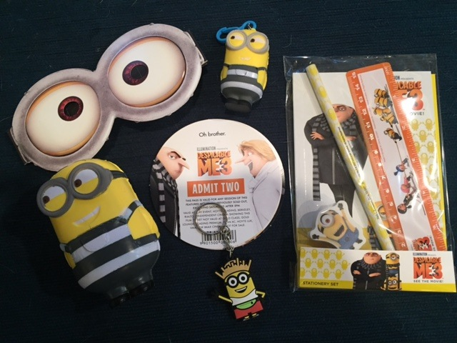 Win Despicable Me 3 tickets