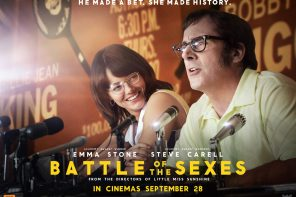 Win Battle of the Sexes movie passes – we've got three to giveaway