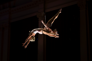 CIRCUS AND CLASSICAL MUSIC COME TOGETHER IN HEAVENLY HARMONY
