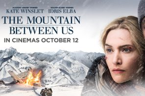 Be in to win a double movie pass to The Mountain Between Us